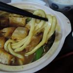 59922676 - カレー煮込みうどん 麺リフト