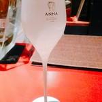 ペスカ - グラスが半透明でかわいい。
