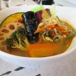 Kuu - こだわり農家の野菜カレー+ビビンバトッピング