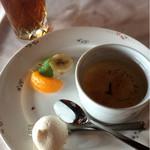 ラ・フィーユ - デザートも数種類から選べました。