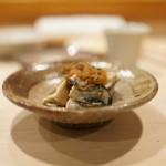 新ばし しみづ - 蒸し牡蠣