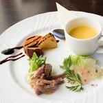 59926697 - 【パスタランチコース】                       前菜の盛り合わせ