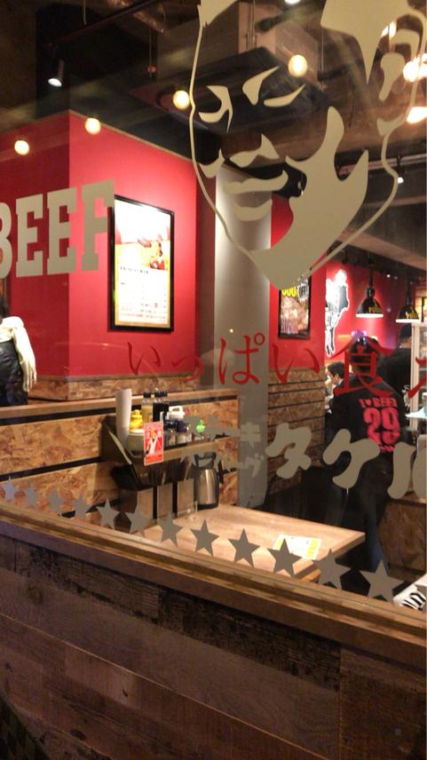 1ポンドの ステーキ ハンバーグ タケル 東三国店