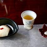 松籟庵 - 先付のお豆腐