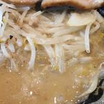 北海道らぁ麺 ひむろ - 炒め野菜