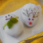 銀座 風月堂 - 雪だるま、トナカイ