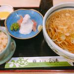 乃しろ庵 - 料理写真:たぬき定食