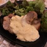 肉びすとろ 熟 - 若鶏のキジ焼き タルタルソース