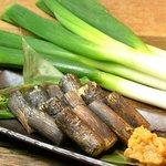 葱や平吉 - 料理写真:葱の黒焼き