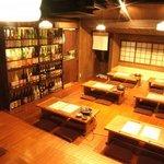 葱や平吉 - 2Fは最大40名迄のお座敷。ゆっくりと宴会を楽しんでもらえます。