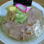 味処 十三里 - チャーシューメン(塩)バタートッピング 850円
