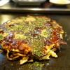 味三 - 料理写真:豚ミックス、お好み焼き
