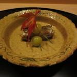 Ginzaichigo - 子持ち鮎と銀杏から。