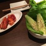 59933186 - キムチ&うしごろサラダ