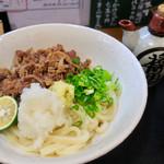 讃岐麺房 すずめ - 牛生醤油(温)