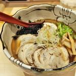 """焼きあご塩らー麺 たかはし - '16.12""""得""""製焼きあご塩らー麺"""