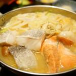 59936154 - 定食ランチ 海鮮ちゃんこ 味噌味 (¥1,300)