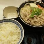 吉野家 - とんこつ鍋膳