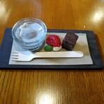 もみのき食堂 - 「ランチのおやつ」