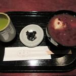 湖月堂 - 料理写真:【栗ぜんざい 810円】