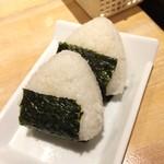 がブリチキン - 銀シャリおむすび(200円)