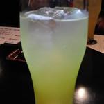炭火焼鳥串道 - 生グレープフルーツサワー