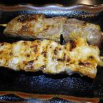 炭火焼鳥串道 - ささみの味噌焼とネック