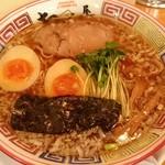 59943200 - 支那そば(醤油)¥730+煮玉子¥100