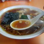 59943572 - 香り高い生姜醤油スープ