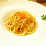 59944095 - 1612 ロベルトカレラ マスカルポーネテーズのスパゲッティ ポッタルガかけフランス産マスの卵添え