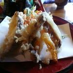 むすび むさし - 豊平の野菜の天ぷら
