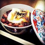 おづKyoto -maison du sake- - 八宝ぜんざい 餅入り/850円(税別)