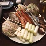 浜焼酒場!海王 - 宴会コース:浜焼き