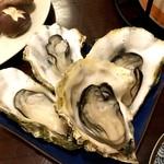 浜焼酒場!海王 - 宴会コース:蒸し牡蠣