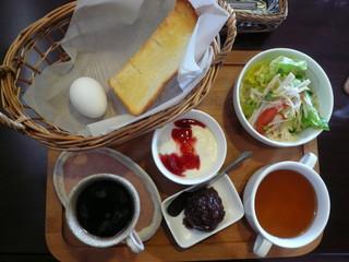 こだま珈琲 - モーニングサービス