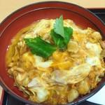 鶏三和 - 八丁味噌親子丼