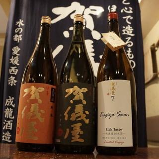 稀有な日本酒が勢ぞろい、地域No.1