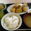 埼玉屋 - 料理写真:アジフライ定食 ご飯は(小)にしています。