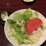 59947145 - サラダとぬか漬け