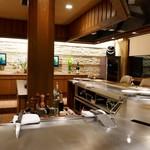ステーキ・鉄板料理和かな - 店内の様子