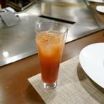 ステーキ・鉄板料理和かな - カシスオレンジ