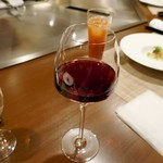 ステーキ・鉄板料理和かな - グラスワイン軽め