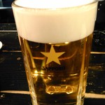 君津北口の串屋横丁 - 生ビール中ジョッキ
