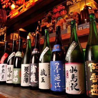 米どころ宮城の誇る一杯。自慢の日本酒を提供!