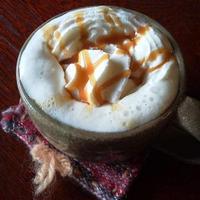 実家カフェ - キャラメルミルク