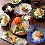 東荘 - 夜の会席料理、料理長のおまかせもできます