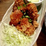 名もなき店 自然生物語 - 若鶏の唐揚げ南蛮御膳