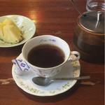 59950854 - コーヒーとパイナップル