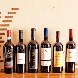 南イタリアを中心にお手頃で美味しいワインを厳選♪