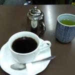 センリ軒 - 緑茶がいいでしょ。(^ー^)